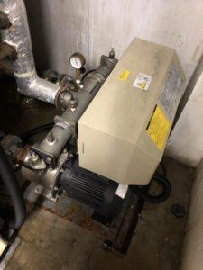 既設の給水ポンプユニット