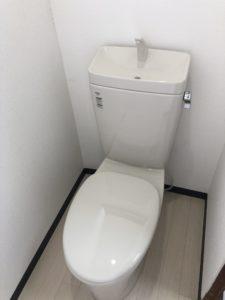設置した洋式トイレ