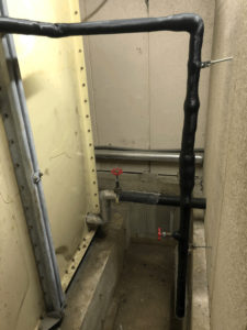 共用水栓設置前