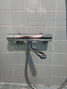 交換後のお風呂蛇口