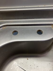分岐止水栓取り付け穴
