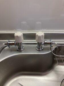 取り付けた分岐止水栓