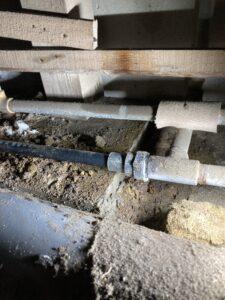 修理後の配管1