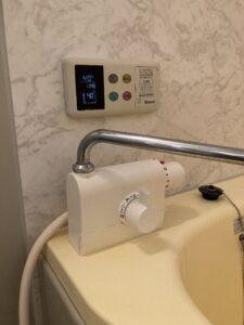 修理後の浴室蛇口