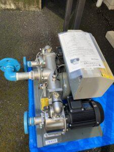 一部配管後の給水ユニット
