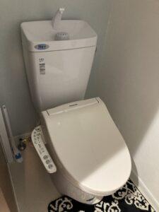 温水洗浄便座交換後