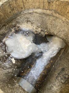 高圧洗浄による詰まり修理