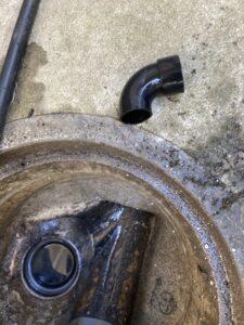 排水管内から出てきた異物